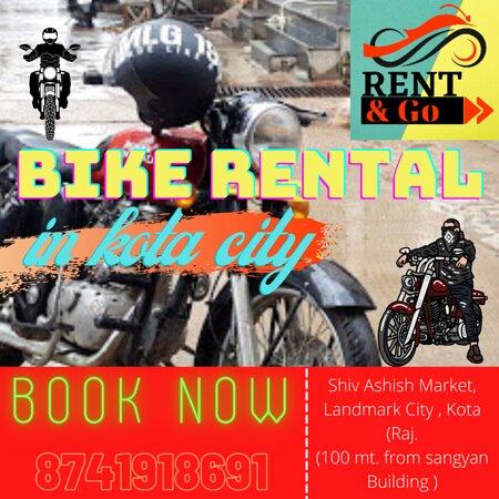 Rent & Go | Bike Rental In Kota