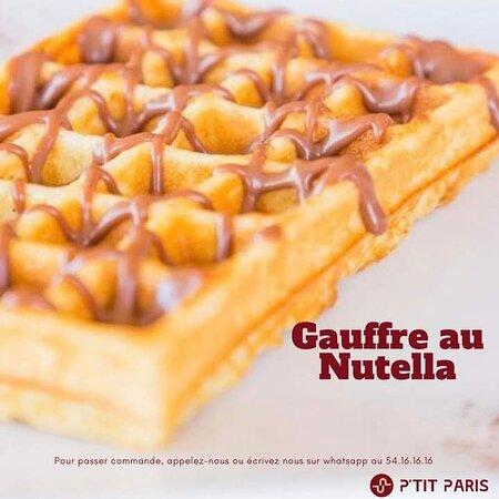 Gauffre Au Nutella