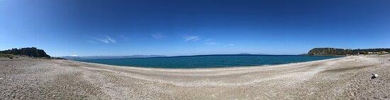 Foto panoramica spiaggia di Ponente