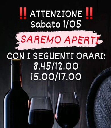 Capriano del Colle, إيطاليا: Sabato 1/05 APERTI