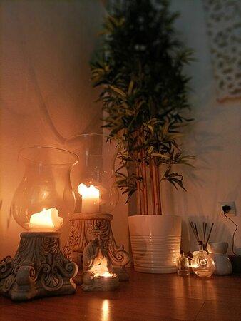 São várias as velas, que acesas testemunham momentos únicos e inesquecíveis...