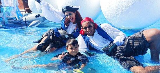 Día del niño Pirata Emmanuel y Pirata Cinthia