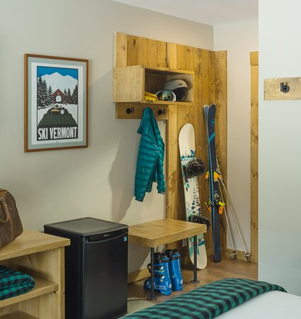 Custom made nooks for all your things.