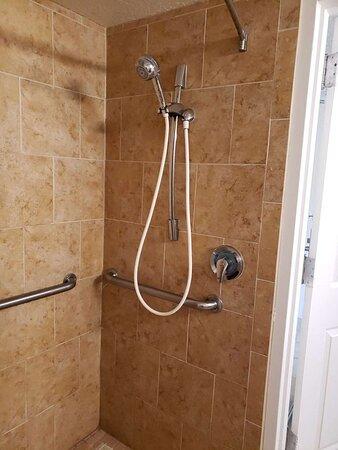 Handicap bathroom in towers