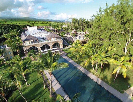 Outrigger Mauritius Beach Resort Crystal Marquee Aerials