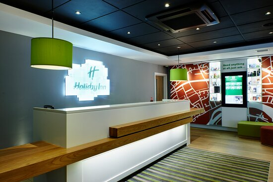 Welcoming you with a Smile at Holiday Inn