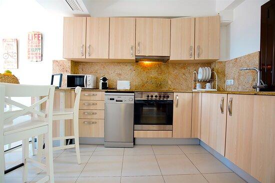 Apartamento la Lonja Ático Cocina