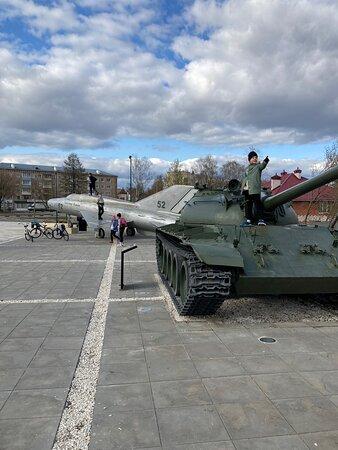 Парк-музей военной техники под открытым небом