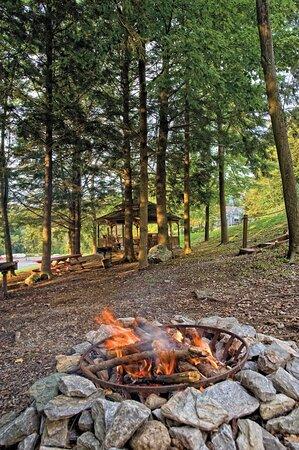 Firepit - Club Wyndham Bentley Brook