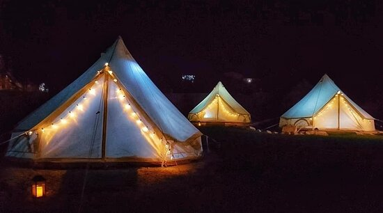 Gnarabup, Australia: Glamping tent!