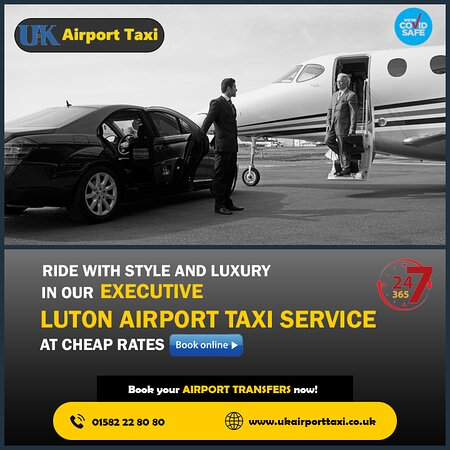 Ride with style and luxury in our Executive Luton Airport Taxi Service at cheap rates. Book your Airport Transfers now!