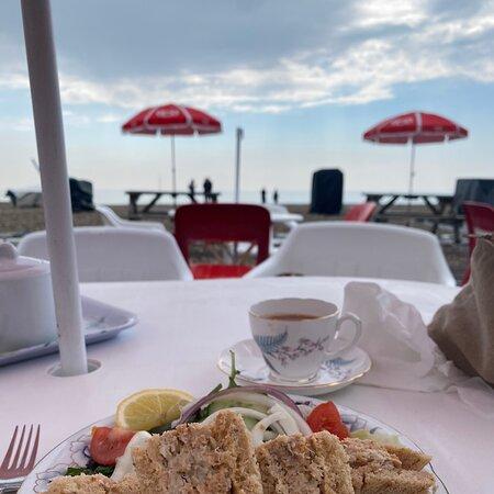 Lovely fresh Crab Sandwiches