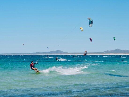La Ventana, Mexiko: kite club sessions