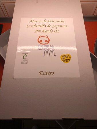 El mejor cochinillo de Segovia en Madrid