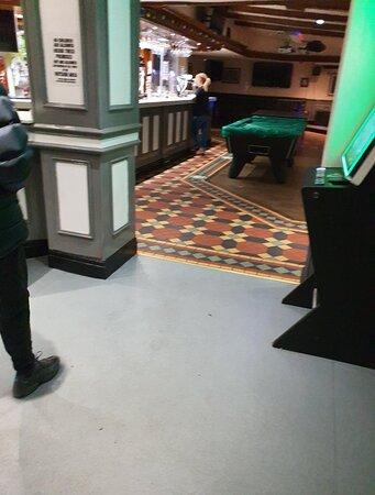 Busy pub.