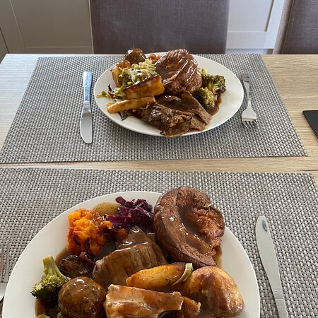 An excellent Sunday lunch takeaway