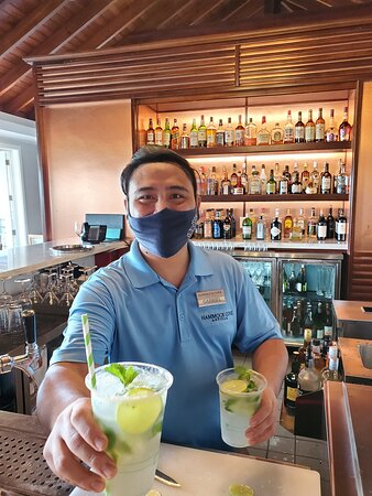 Gabe with the best Mojitos