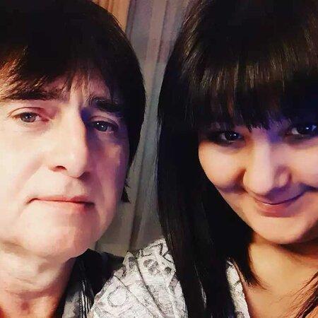 My wife Iren and I.