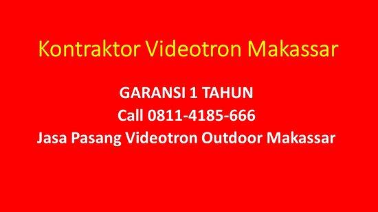 KLIK https://wa.me/628114185666 Jasa Pembuatan Videotron Makassar, Jasa Pemasangan Videotron Makassar, Importir Videotron Makassar,   Perusahaan Videotron Makassar . Seven Visual Hologram Pusat Videotron Makassar Alamat : Komp. Tulip II Blok D2 No.2 Panakkukang Mas Kota Makassar . #JasaPembuatanVideotronMakassar, #JasaPemasanganVideotronMakassar, #ImportirVideotronMakassar, #PerusahaanVideotronMakassar,  #TokoVideotronMakassar, #KantorVideotronMakassar, #DealerVideotronMakassar, #VendorVideotron