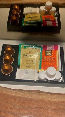 茶包種類很多選項