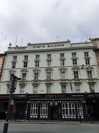 Rigby's Pub in Liverpool Commercial District