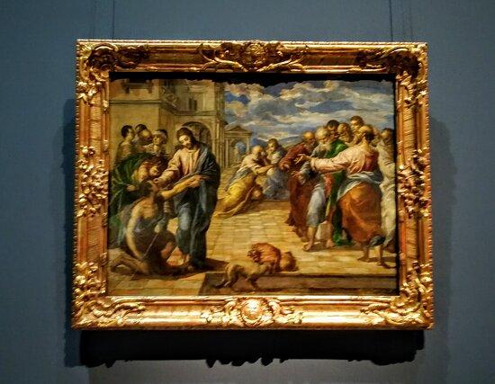 Cristo Guarisce un Cieco - El Greco