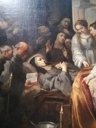Morte di Santa Chiara – Murillo