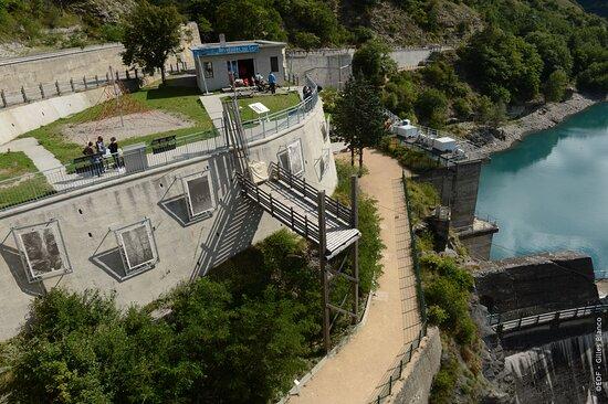 Belvedere du barrage du Sautet