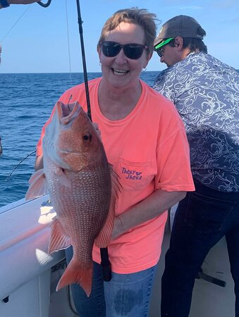 Barb and her fish!
