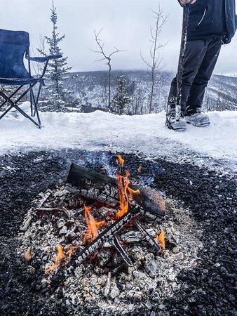 Snowmobiling - white mountain adventure
