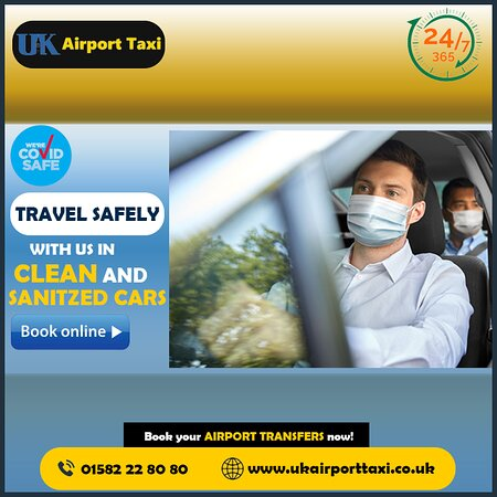 Travel safely with us in clean and sanitized cars. Book your Airport Transfers now! http://ukairporttaxi.co.uk/
