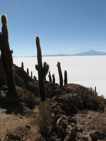 Un incredibile mare di sale..Bolivia