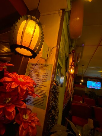 Very nice music and good themed and nice food and beverages with comfortable seating options