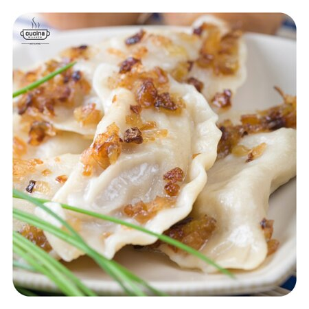 Dumpling with meat - polish traditional food