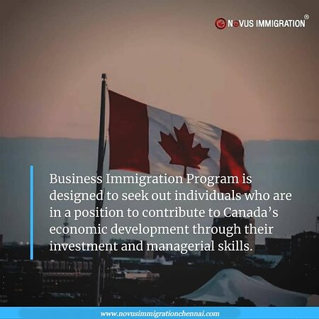Chennai (Madras), Indien: Your experience and business know-how are invaluable assets that can help you invest in your future with Canada's fast-growing, diverse economy.  The Government of Canada is seeking investors, business managers, and entrepreneurs of all shapes and sizes who are interested in settling and seeking new opportunities in Canada to apply to the wide range of fast-tracked Business Immigration Programs.   Website: https://www.novusimmigrationchennai.com/  Call Us: +91-9606500972