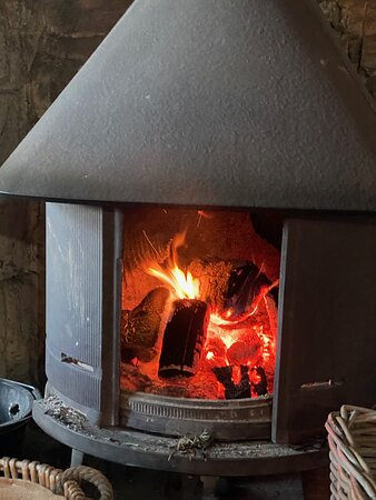 WHO DOESN T LOVE A ROARING FIRE