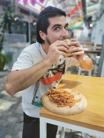 El burger de cabra, lo has elijado mejor burger