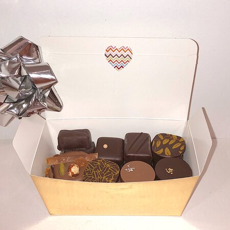 Ballotins de chocolats fins
