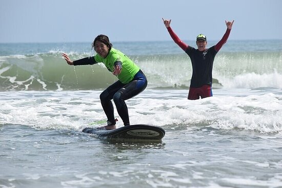 Private Surfing Lesson with Local Vetted Coach in Pacifica