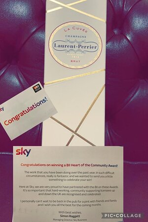 Thank you so much to SKY for what was a very unexpected gift   We couldnt have done any of this without our amazing community supporting us   We cant wait to see what we achieve this year :D   Heres to 2021 and our comeback!