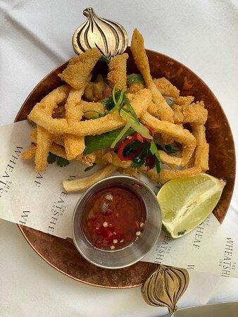 tempura calamari