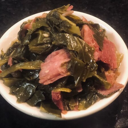 East Moline, IL: Greens with Smoked Turkey