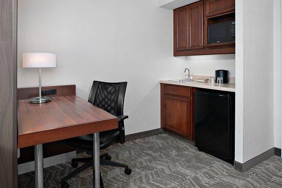 Wet Bar and Work Desk