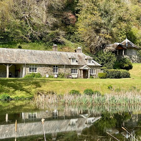 Spring at Hotel Endsleigh in the exquisite Repton styled gardens