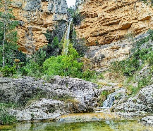 Castillo de Villamalefa, Spain: Chorrador de agua