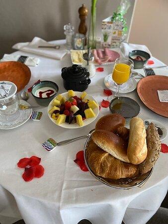 Oostburg, The Netherlands: ontbijt