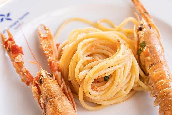 Pasta ai frutti di mare/ seafood pasta