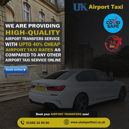 We are providing high-quality Airport Transfer Services with upto 40% cheap Airport Taxi rates as compared to any other Airport Taxi Service online. Book your Airport Transfers now!  https://www.ukairporttaxi.co.uk/