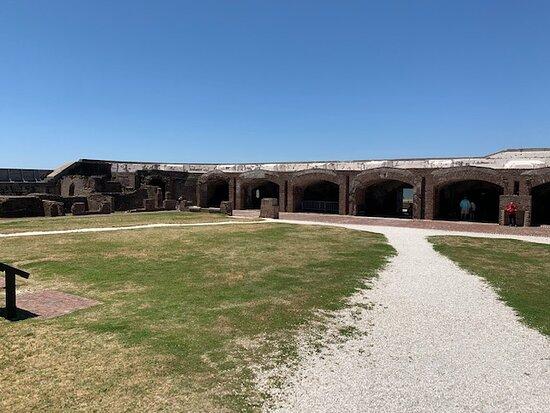 Fort Sumter Adgangsbillet og selvstyret tur med returfærge: Fort Sumter