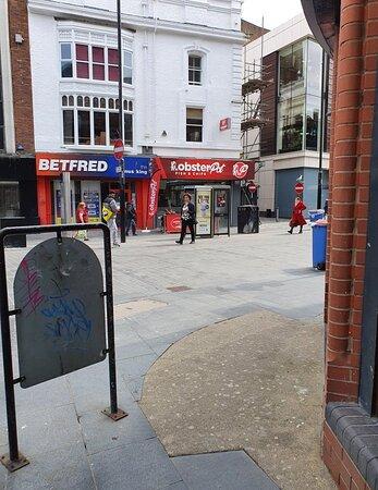 The Lobster Pot 🦞 along Whitechapel.